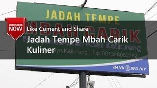 Jadah Tempe Mbah Carik Kaliurang Yogyakarta