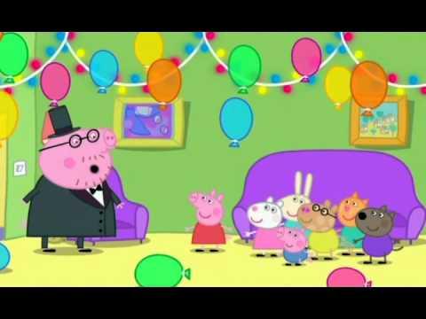 Prasátko Pepa - Moje narozeninová oslava