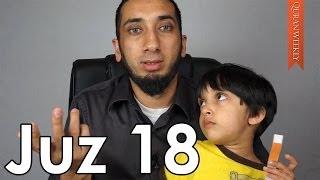 CÜZ 18 - Ahlaksızlığı Yayan Müslümanlar [Nouman Ali Khan]