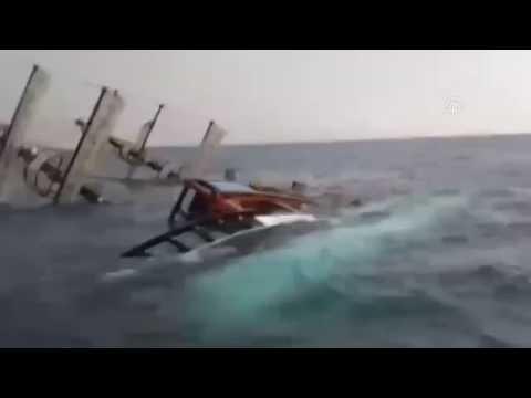 Крушение пассажирского судна в Турции