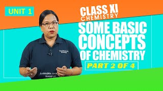 Unit 1 Part 2 of 4 - Some Basic Concepts of Chemistry