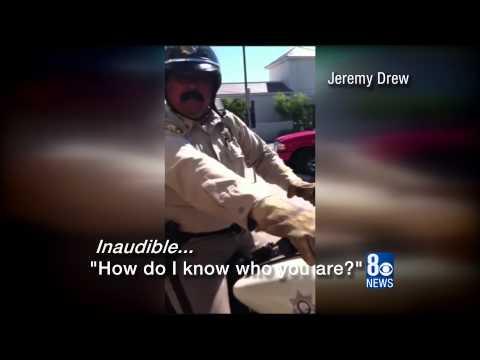 Kid Confronts Metro Cop