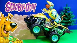 Unboxing the  Scooby Doo Remote Control ATV Vehicle
