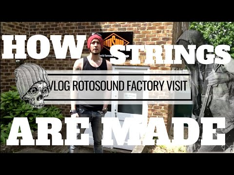 Rotosound factory visit