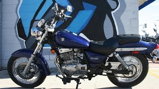 4. 2007 Suzuki GZ250 Motorcycle For Sale... Only 1189 miles!