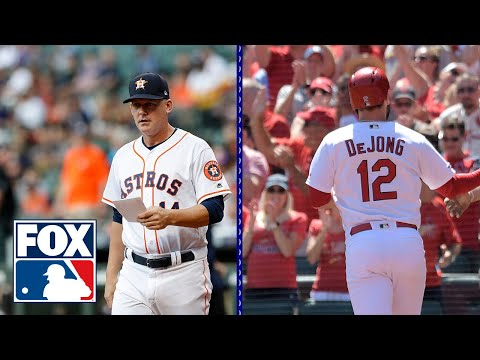 Video: Astros injury issues and who is the Cardinals MVP? | MLB WHIPAROUND