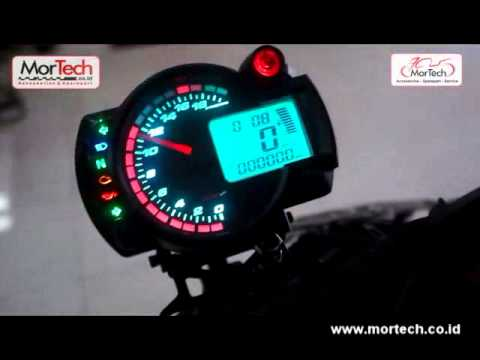 Speedometer Digital Koso RX2N