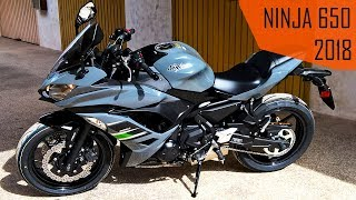 4. KAWASAKI NINJA 650 2018 | FULL PRESENTATION | TEST DRIVE | ENGINE SOUND | ACCELERATION