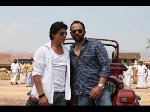 Chennai Express | SRK & Rohit Shetty in one awesome combo I Behind the scenes