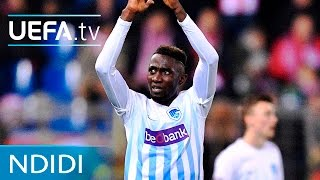 With Leicester agreeing a deal to sign Genk' Wilfred Ndidi, watch the Nigerian international hit a brilliant long-range goal in the UEFA Europa League earlie...