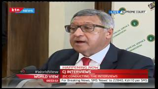 CJ INTERVIEWS: Judge Alnashir Visram's explains why he applied for the position of Chief Justice