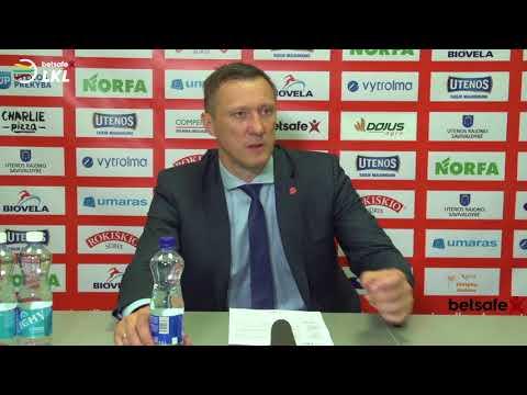 """""""Betsafe–LKL"""" rungtynių komentarai: """"Juventus"""" - """"Lietuvos rytas"""" [2018-05-14]"""