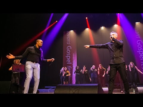 Hosanna (Kirk Franklin) COVER By Brotherhood Gospel Choir Live @ Novara Gospel Festival 2017