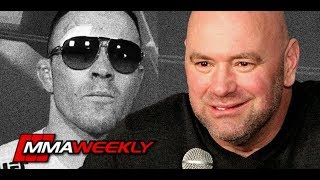Dana White praises Colby Covington and confirms Broken Jaw  (UFC 245) by MMA Weekly