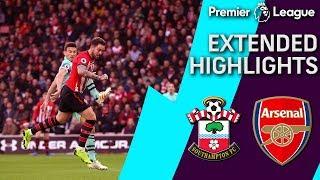 Southampton v. Arsenal   PREMIER LEAGUE EXTENDED HIGHLIGHTS   12/16/18   NBC Sports