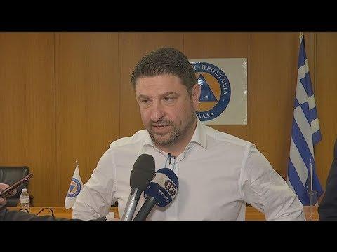 Δήλωση Ν. Χαρδαλία μετά τη σύσκεψη με φορείς κρίσιμων υποδομών της χώρας