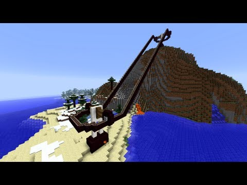 Fully Functional Chairlift! [Minecraft 13w16a]