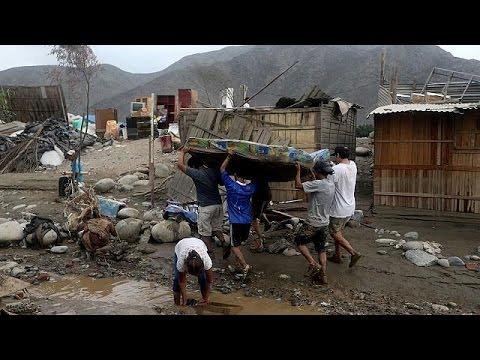 Περού: Σαρωτικές πλημμύρες με δεκάδες νεκρούς