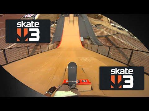 xbox360 - A premiada série SKATE está de volta em um território novo. Skate 3 chega à nova cidade de Port Carverton. Prepare-se para montar uma equipe personalizada, d...