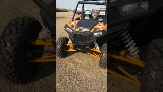6. 2017 Polaris Rzr S 1000 EPS Spectra Orange