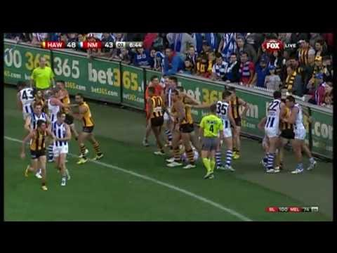 hawthorn - An absolute classic at the MCG to complete a thrilling Round 5, 2013. For more video, head to http://afl.com.au.