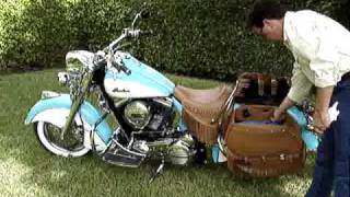 8. 2009 Indian Chief Vintage Motorcycle changing the look.MPG