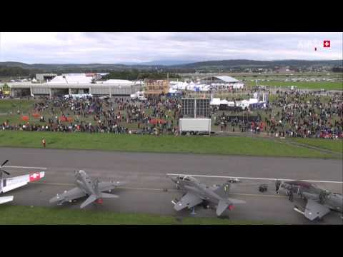 *LIVE* - Live the magic of the AIR14 PAYERNE airshow! On August 29 and for about ten days, AIR14 PAYERNE will allow us to properly commemorate the following anniversaries: 100 years of our Air Force,...