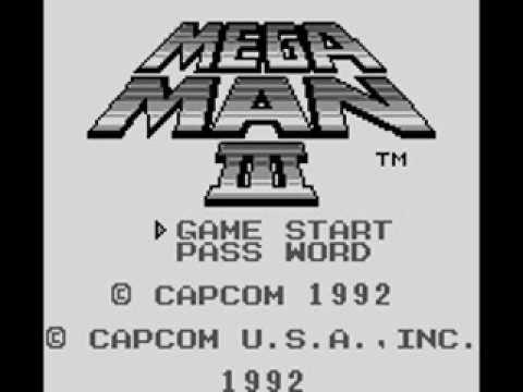 Megaman III Gameboy Music Full OST Soundtrack Part 1