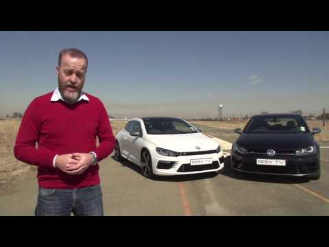 Episode 377 - Comparison VW Golf R vs VW Scirocco R