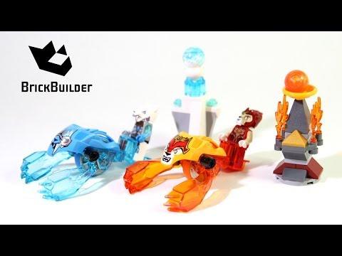 Vidéo LEGO Chima 70156 : Set de démarrage - Laval vs Sir Fangar