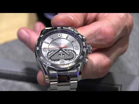 Victorinox Swiss Army Chrono Classic 1/100th Watch Explained