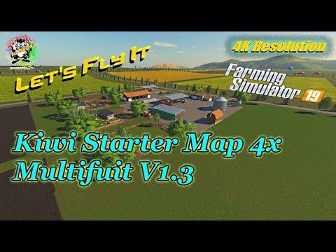 KIWI FARM STARTER MAP 4X MULTI FRUIT v2.0