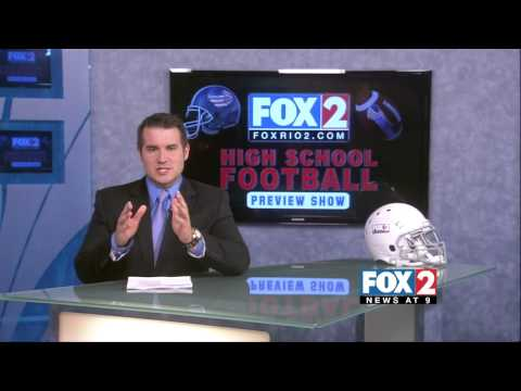 Fox 2 Sports High School Football  Preview Show Part 1