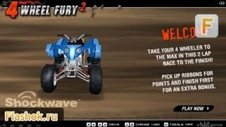 Видеообзор 4 Wheel Fury 2