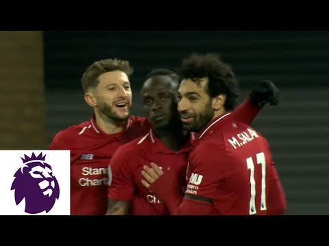 Video: Sadio Mane's goal secures Liverpool's win against Crystal Palace | Premier League | NBC Sports