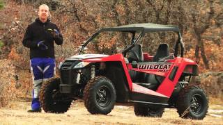 1. First Look at the 2014 Arctic Cat Wildcat Trail and X Limited