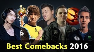 Biggest Comebacks of 2016 — Dota 2