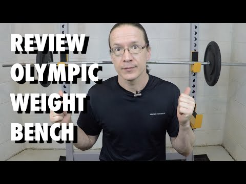 Review: adidas Sport Deluxe Olympic Weight Bench
