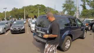 Autoline's 2008 Nissan Pathfinder SE Walk Around Review Test Drive