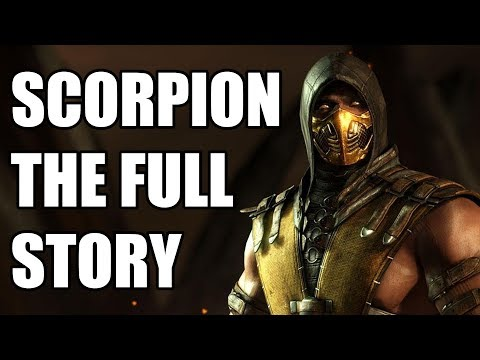 The Full Story of Scorpion - Before You Play Mortal Kombat 11