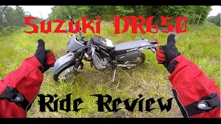 2. Suzuki DR650 Ride Review.
