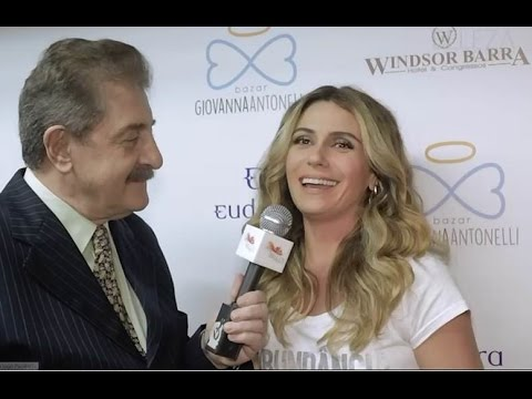 Hugo Turovelzky entrevista Giovanna Antonelli