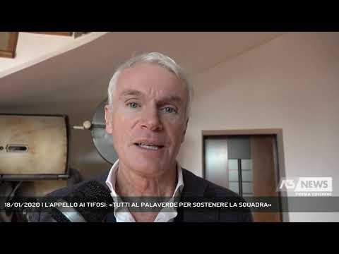 18/01/2020 | L'APPELLO AI TIFOSI: «TUTTI AL PALAVERDE PER SOSTENERE LA SQUADRA»