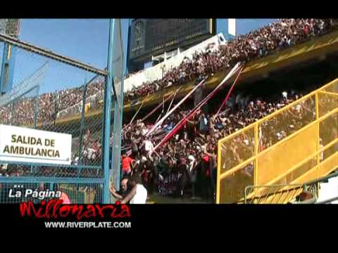 Video - Que loca está la hinchada - Los Borrachos del Tablón - River Plate - Argentina