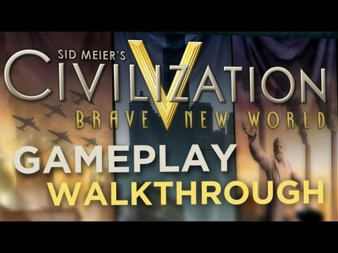 обзор Civilization V: Brave New World