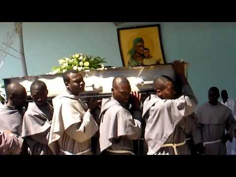 Conventual friars mourn friars Augustine and Stanley 2010-Ibenga, Zambia