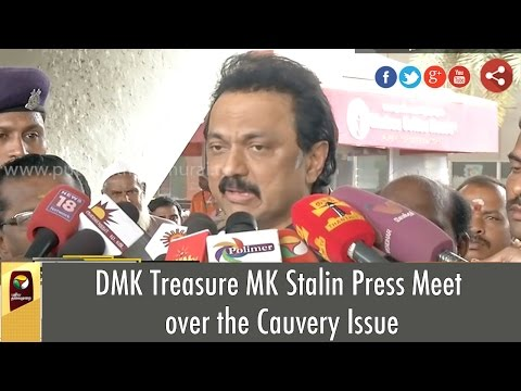 DMK-Treasure-MK-Stalin-Press-Meet-over-the-Cauvery-Issue