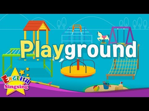Kids vocabulary - Playground - Learn English for kids - English educational video