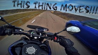8. 2018 Yamaha MT-09 SP test ride ll 4K, goodass sound