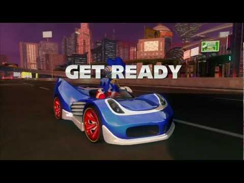 Sonic & All Stars Racing Transformed: Graffiti City [1080 HD]